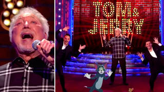 Tom Jones on Saturday Night Takeaway