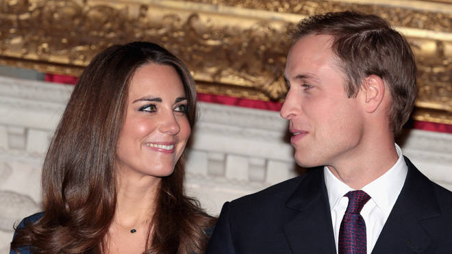 William and Kate in 2010