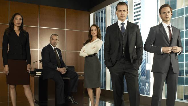 Meghan in Suits' first season