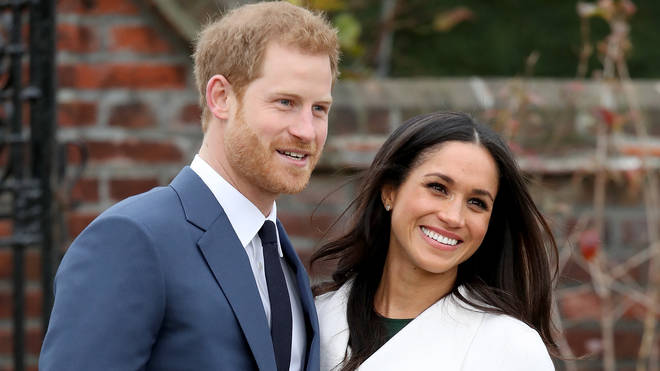 Harry and Meghan in 2017