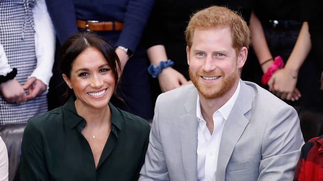 Meghan and Harry in 2018