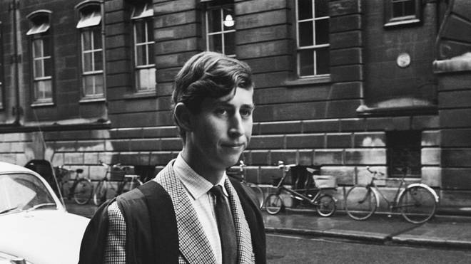Prince Charles In Cambridge in 1967