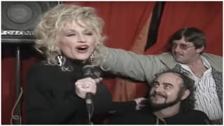 Dolly Parton stunned Irish locals in 1990 by agreeing to perform her hit song 'Coat Of Many Colours' in a crowded pub.