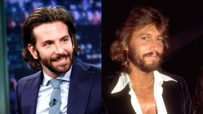Bradley Cooper could play Barry Gibb in a Bee Gees movie.