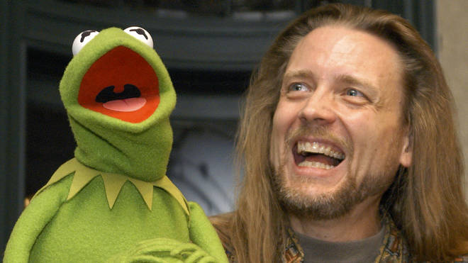 Kermit with Steve Whitmire in 2003