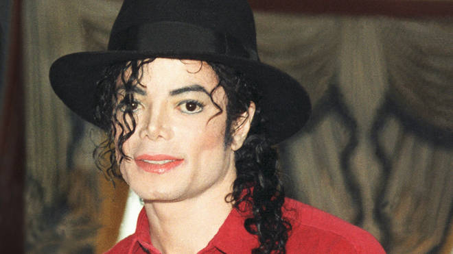 Michael Jackson in 1996