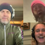 Take That's Gary Barlow, Howard Donald and Mark Owen have released a on-off performance of the trio reuniting to sing 'Never Forgot'