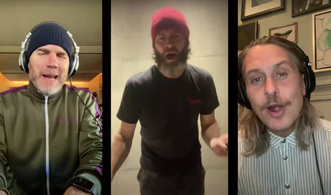 Howard Donald and Mark Owen joined Gary Barlow on his YouTube channel for a special video which saw the three reunite online to sing their 1995 hit.