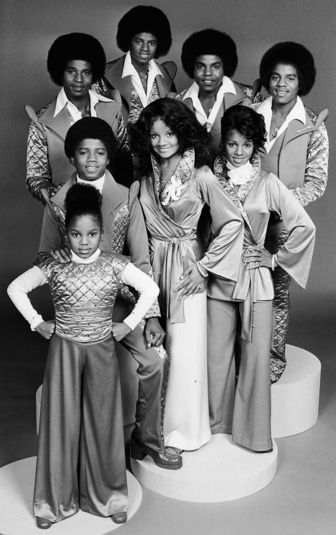 The Jackson family in 1977