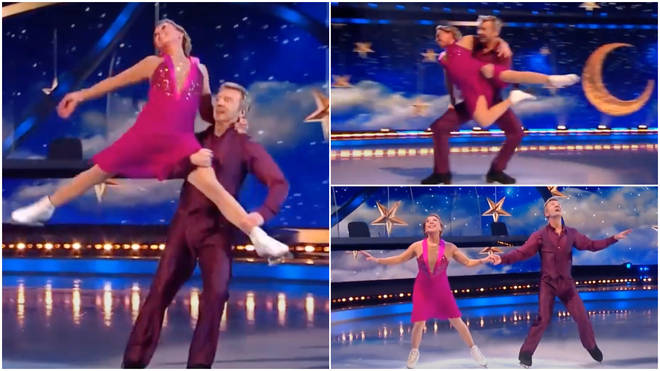 Jayne Torvill and Christopher Dean gave a stunning skating performance on Sunday night's (March 14) 2021 final of Dancing On Ice.