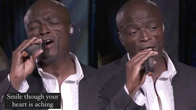 Seal uploaded a video of him singing Nat King Cole's 'Smile' on the eve of Mother's Day.