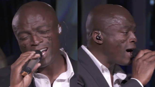 Grammy Award-winning British singer Seal, best known for his 1990s soul and R&B hits, released his own version of Nat King Cole's track 'Smile' on his 2017 album Standards (pictured).
