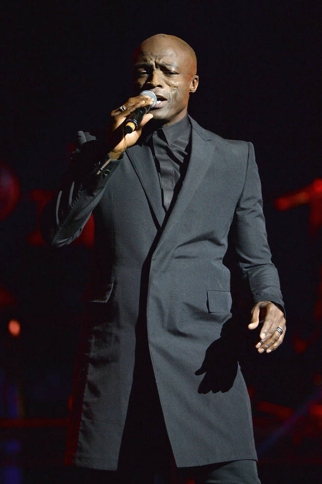 Seal released classic album 'Standards' in November 2017 (pictured).