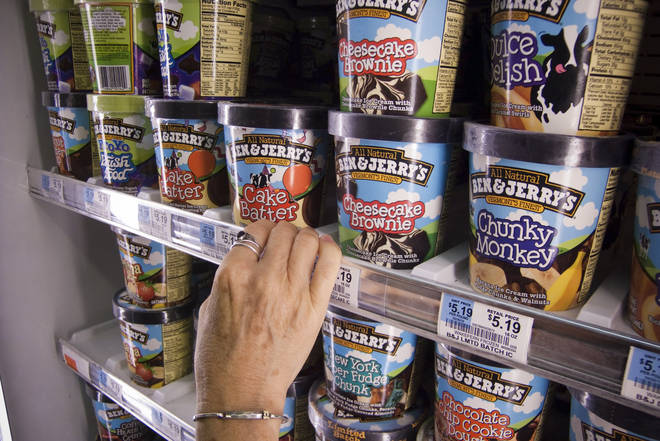 Ben & Jerry's have a wealth of flavours to choose from