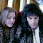 Brian May has released a brand-new selection of backstage images of Freddie Mercury and his Queen bandmates Pictured (L to R) Mary Austin, Freddie Mercury and Roger Taylor.