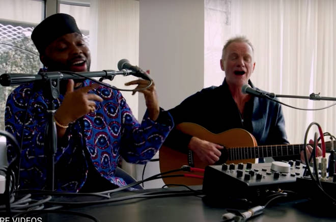 Sting reportedly loved the cover so much that he invited Shirazee to record the song for his new album and also sat down to record a hybrid of the two songs: 'Englishman/African in New York' for the special one-off performance.