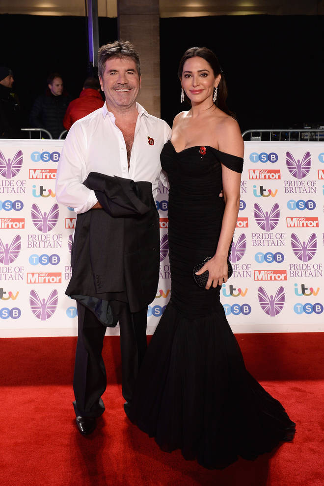 Simon Cowell attended with his partner Lauren Silverman