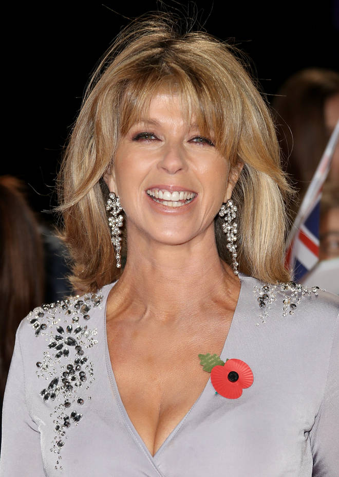 Kate Garraway beamed on the red carpet
