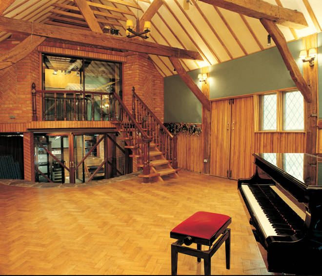 Queen spent a month rehearsing at Ridge Farm Studio, Surrey (pcitured) in August 1975 where they worked on songs for their album A Night At The Opera.