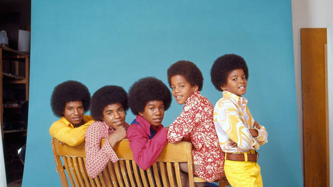 The Jacksons pictured in 1972 as The Jackson 5