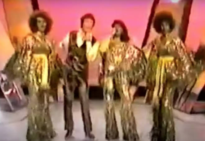 The Supremes gave viewers a special mini-concert on the night, which also saw them perform hits including 'Brothers Love Traveling Salvation Show', 'Loves Country'.