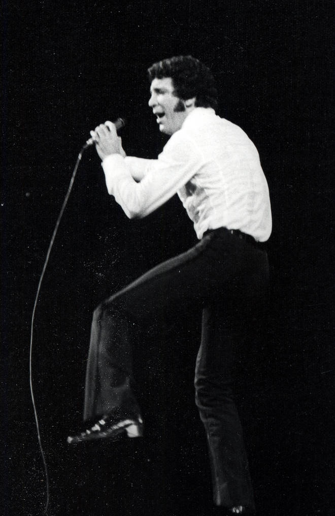 'TV show 'This is Tom Jones' earned the star his 'sex magnet' nickname, often showing off his energetic dance moves and even kissing female members of the audience, despite being married to the same woman all of his life.