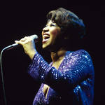 Aretha Franklin singing in 1980