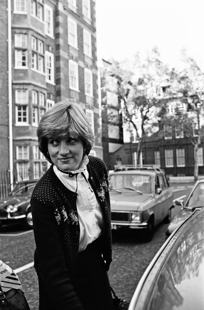 It is thought the commemoration will be placed outside the apartment Lady Diana Spencer shared with friends in Earl's Court. Pictured, Princess Diana outside her Earl's Court flat in 1980.