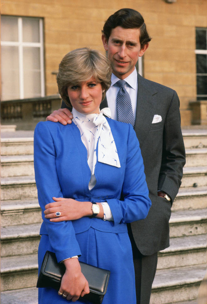 The young Lady Spencer lived at the address for two years until she moved to Clarence House the night before her engagement to Prince Charles on February 24, 1981 (pictured).