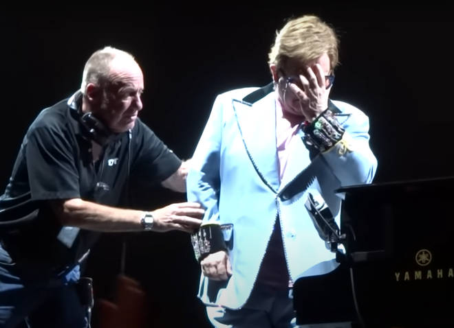 Elton John was playing the New Zealand leg of his Farewell Yellow Brick Road Tour when he started crying and had to be escorted off the stage.