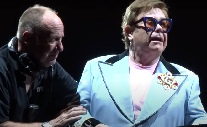 """""""I played and sang my heart out, until my voice could sing no more. I'm disappointed, deeply upset and sorry. I gave it all I had,"""" Elton John later said ins a statement."""