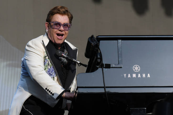 """""""I will be starting my tour again in Europe and the UK in the Fall of 2021.And I will be back in North America starting in January 2022,"""" Elton John Has announced. Pictured on his New Zealand tour in 2020."""