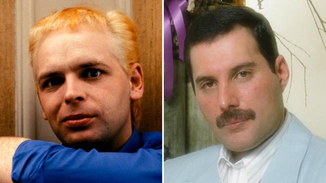 Gary Numan met Freddie Mercury and Queen in Japan