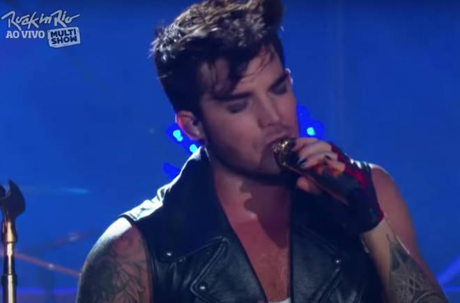 Adam Lambert sang the opening verses of 'Bohemian Rhapsody' at Rock In Rio in 2015.