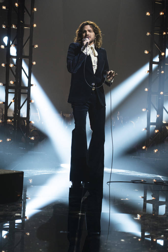 Adam Lambert found fame on American Idol after auditioning with Queen's 'Bohemian Rhapsody'. Pictured, Adam on the show in 2009.