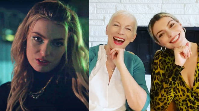 Annie Lennox's 30-year-old daughter, Lola Lennox, has released her fourth single, co-produced by her famous mother. Pictured, Lola and her mum Annie Lennox.