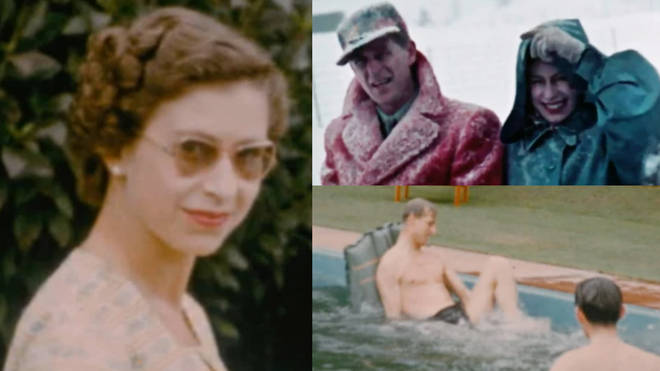 New unseen footage of the pair relaxing in New Zealand on Christmas day just months after the Queen's coronation gives an incredible insight into the monarch's private life.