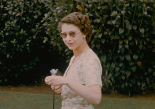 The never-before-seen footage of the Queen will be aired as part of an ITV documentary exploring the Queen's life.