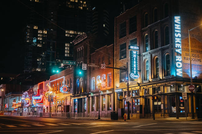 Music Row is the heart of Nashville's country music scene.