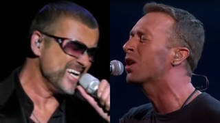 Coldplay's Chris Martin was performing 'A Different Corner' in tribute to George Michael at the 2017 Brit Awards when he was joined by the star himself