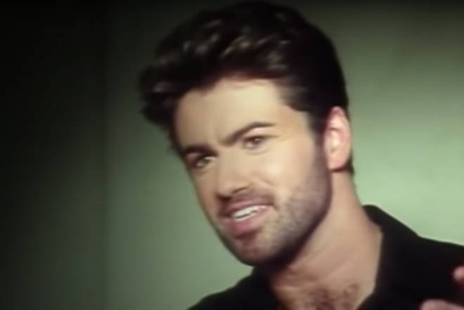 """Video of a young George Michael giving an interview started to play and the young superstar saying:  """"I never wanted to be someone else."""""""