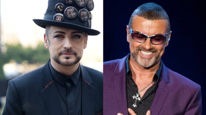 George Michael and Boy George
