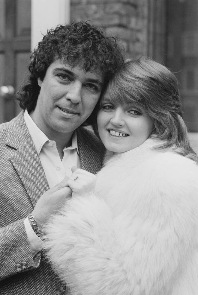 Linda Nolan and Brian Hudson in 1981
