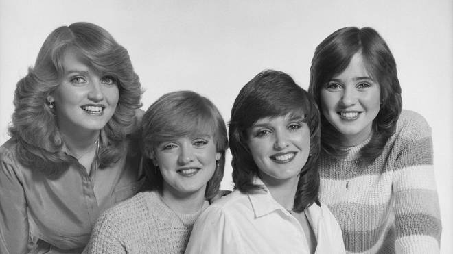 The Nolans in 1980 (Left to right: Linda, Bernie, Maureen and Coleen)
