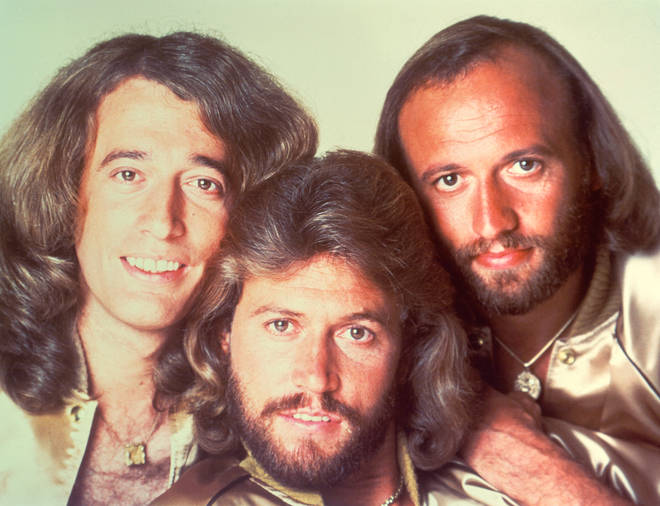 Bee Gees (L to R) Robin, Barry and Maurice Gibb are renowned as one of the most successful singer-songwriting groups of the 20th century.