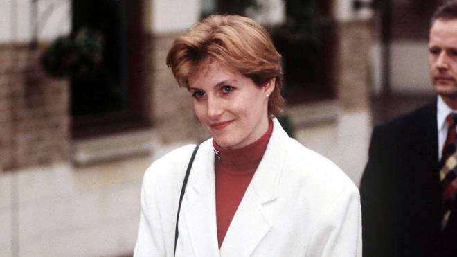Sophie Rhys-Jones in the early 1990s