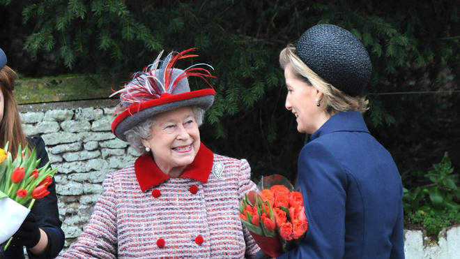 Sophie and the Queen in 2008