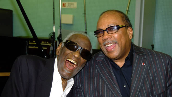 Quincy Jones with Ray Charles