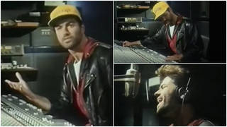 Filmed at a recording studio in 1990, George Michael explains the step-by-step process of how he records the music and what goes into making a track.