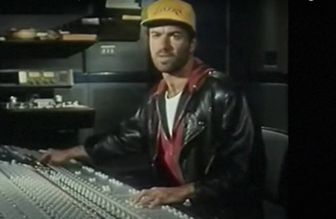 "George Michael, pictured in the studio in 1990, was once called ""the greatest songwriter of his generation"" by Elton John."
